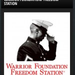 giving back to warrior foundation freedom station