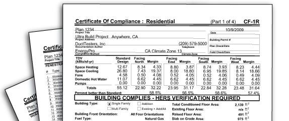 Certificate of Compliance Forms for Residential Homes