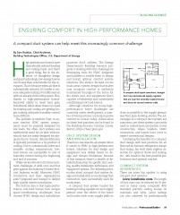 Duct System Design, Duct Testing, HVAC System, High-Performance Home