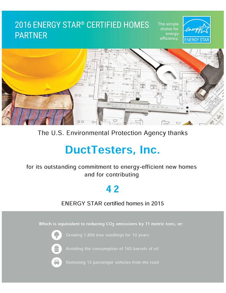ENERGY STAR RATER IN CA, AZ and NV