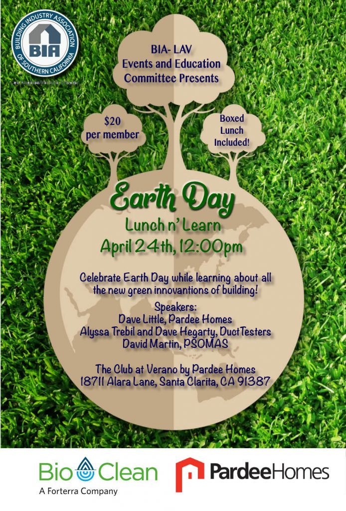Earth Day 2018 Lunch and Learn