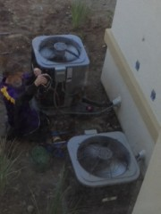 ‎HERSRaters‬, Shane, performing a Refrigerant Charge Test