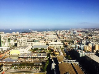Hotel view of San Francisco