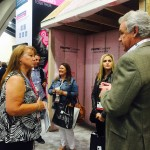 Lafferty Communities in Owens Corning Booth